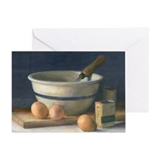 Bowl with Eggs Greeting Card