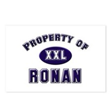 Property of ronan Postcards (Package of 8)