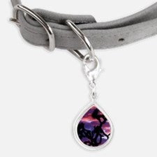 California. Joshua tree at  Small Teardrop Pet Tag