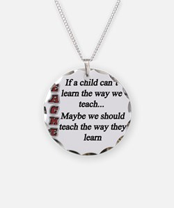 Child Learning copy Necklace