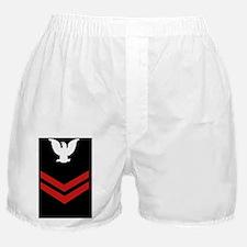 Navy-Rank-PO2-Tile-Blues Boxer Shorts