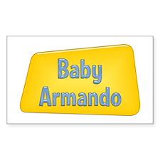 Baby Armando Rectangle Decal