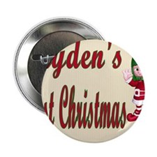 "Jaydens first Christmas 2.25"" Button"
