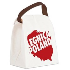legnica_02_red Canvas Lunch Bag