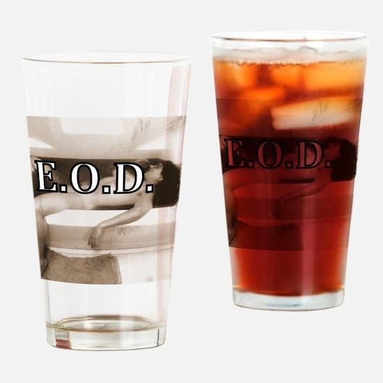 DEATHREDOEDIT-1 Drinking Glass