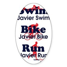triathlonJavier---bluered-lg-.58ar- Decal