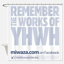 facebooklike Shower Curtain