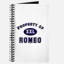 Property of romeo Journal