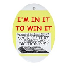 word games Ornament (Oval)