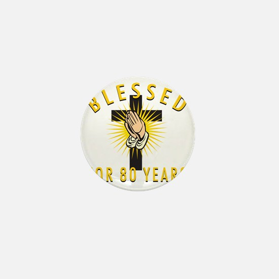 Blessed80 Mini Button