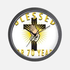 Blessed70 Wall Clock