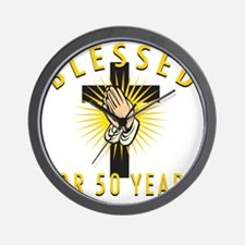Blessed50 Wall Clock