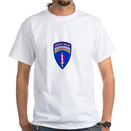 Herzo_Tshirt_BW White T-Shirt