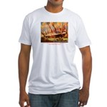 SS United States in New York  Fitted T-Shirt