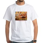 SS United States in New York White T-Shirt