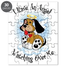 Angel-Watching-Over-Me-Dog Puzzle