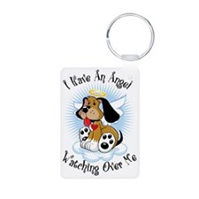Angel-Watching-Over-Me-Dog Keychains