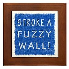 Fuzzy Wall BLW Framed Tile