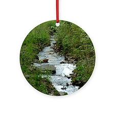 green_creek_mpad Round Ornament