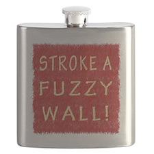 Fuzzy Wall RY Flask