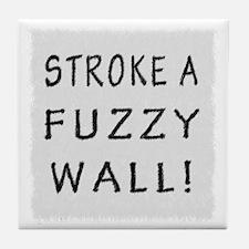 Fuzzy Wall WB Tile Coaster