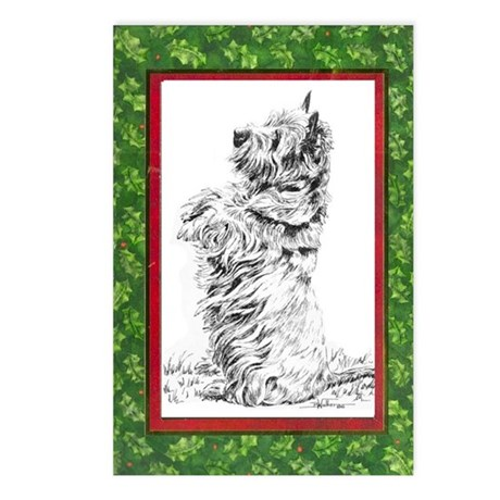 CAIRN XMAS Postcards (Package of 8)
