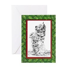 CAIRN XMAS Greeting Card