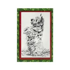 CAIRN XMAS Rectangle Magnet