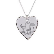 drinks-well2 Necklace Heart Charm
