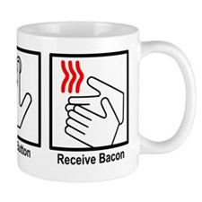 bacon Small Mug
