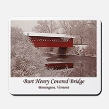 Burt Henry Calendar Mousepad
