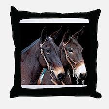 twosome_calendar Throw Pillow