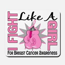 - Breast Cancer Fight Like a Girl Mousepad