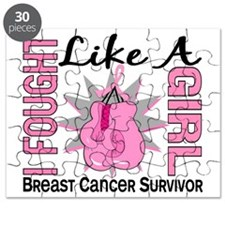 - Breast Cancer Fought Like a Girl Puzzle