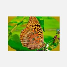 Great Spangled Fritillary Butterf Rectangle Magnet