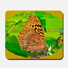 Great Spangled Fritillary Butterfly, Cal Mousepad