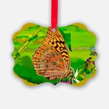 Great Spangled Fritillary Butterf Ornament