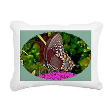 Eastern Black Swallowtai Rectangular Canvas Pillow