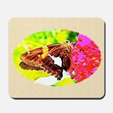 Silver-spotted Skipper Butterfly, Calend Mousepad