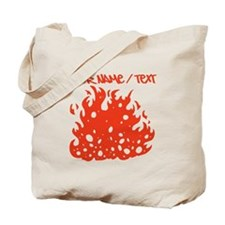 Red Fire Tote Bag