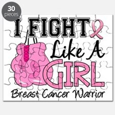 - Breast Cancer Fight Like a Girl Puzzle