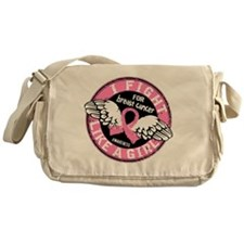 - Breast Cancer Fight Like a Girl Messenger Bag