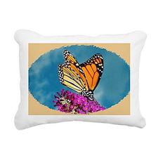 Monarch Butterfly, Calen Rectangular Canvas Pillow