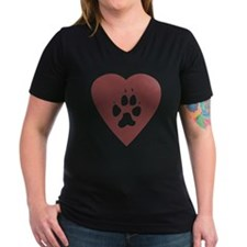 heart_pawprint Shirt