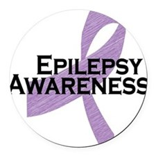 epilepsy awareness Round Car Magnet