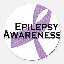 epilepsy awareness Round Car Magnet