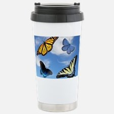 Assorted Butterflies Year At A  Travel Mug