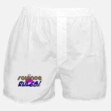 science rules Boxer Shorts