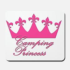 CampingPrincess-Pink Mousepad