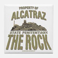 PROPERTY OF THE ROCK Tile Coaster
